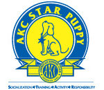 akc star puppy logo