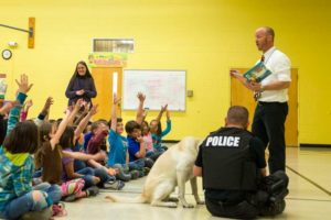 Public Education Educator Resources Dog Visit Police