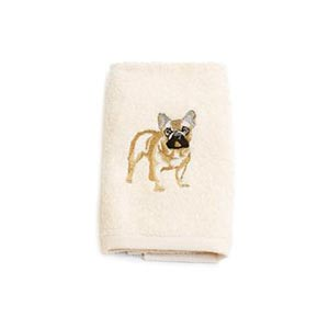 hand-towel-french-bulldog