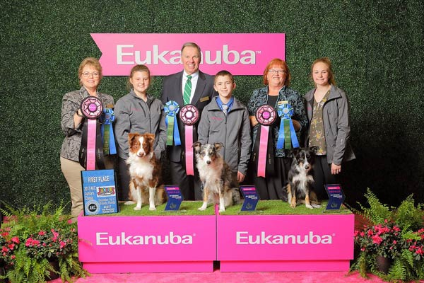 junior obedience winners